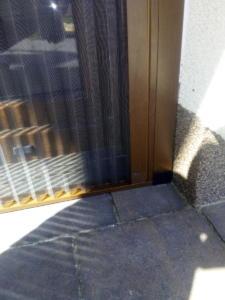 Moskitiera tarasowa plisowana